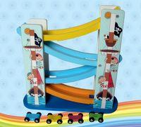 """Деревянная игрушка """"Серпантин. Автомобили"""" (4 уровня)"""