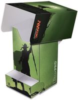 "Коробочка для карт ""Planeswalker: Nissa"" (80 карт; зеленая)"