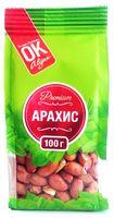 """Арахис очищенный """"Premium ОК!"""" (100 г)"""