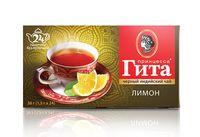 """Чай черный """"Принцесса Гита. Лимон"""" (24 пакетика)"""