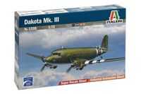 """Сборная модель """"Военно-транспортный самолет """"Dakota Mk. III"""" (масштаб: 1/72)"""