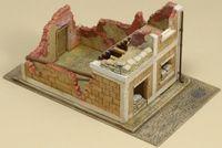 """Ландшафт """"Разрушеный дом"""" (масштаб: 1/72)"""