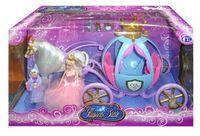 """Игровой набор """"Лошадь с каретой и 2 куклами"""""""