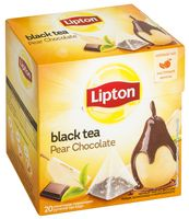 "Чай черный ""Lipton. Pear Chocolate"" (20 пакетиков)"