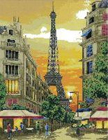 "Вышивка крестом ""Париж"" (255x330 мм)"