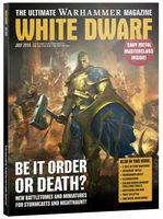 Warhammer Magazine. White Dwarf: July 2018