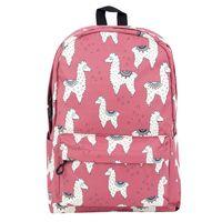 "Рюкзак ""Lama time"" (розовый; арт. KW102-000608)"