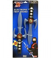 """Набор мечей """"Ниндзя. Двойной меч"""" (со световыми и звуковыми эффектами)"""