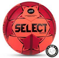 """Мяч гандбольный Select """"Mundo"""" №3 (оранжевый/красный/черный)"""