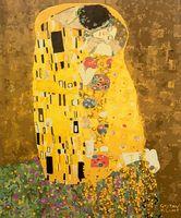 """Картина по номерам """"Густав Климт. Поцелуй"""" (400х500 мм; арт. PC4050358)"""