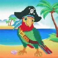 """Вышивка бисером """"Пират"""" (170х165 мм)"""