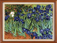 "Вышивка крестом ""Ван Гог. Ирисы Сен-Рем"" (300х405 мм)"