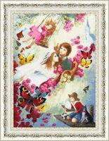 """Вышивка крестом """"Семейное счастье"""" (550х395 мм)"""
