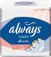 Гигиенические прокладки ALWAYS Classic Normal Sensitive (10 шт)