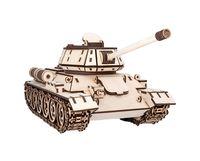 """Сборная деревянная модель """"Танк Т-34"""""""