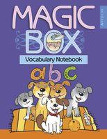 Magic Box 3-4. Vocabulary notebook. Тетрадь-словарик (синяя обложка)