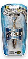 """Станок для бритья """"Pace 3"""" (+2 кассеты)"""
