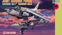 "Набор самолетов ""Joint Harrier Force"" (масштаб: 1/144)"