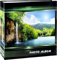 "Фотоальбом ""Waterfalls"" (500 фотографий; 10х15 см; зеленый)"