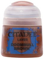 "Краска акриловая ""Citadel Layer"" (doombull brown; 12 мл)"
