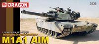 """Боевой танк """"M1A1 AIM"""" (масштаб: 1/35)"""