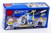 """Конструктор """"Space. Площадка имитации запуска"""" (36 деталей)"""