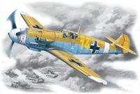 Германский истребитель Bf 109 F-4Z/Trop (масштаб: 1/48)