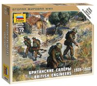 """Набор миниатюр """"Британские саперы 1939-1942"""" (масштаб: 1/72)"""
