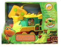 """Игрушка на радиоуправлении """"Поезд динозавров"""""""
