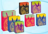 """Пакет бумажный подарочный """"Рисунок"""" (в ассортименте; 40x30x12 см; арт. МС-3039)"""