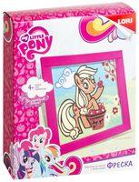 """Фреска с блестками """"My Little Pony. Эппл Джек"""""""