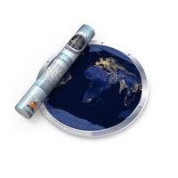 """Карта мира """"Ночная Земля в иллюминаторе"""""""