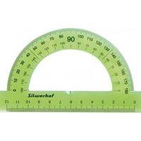 """Транспортир """"Silwerhof"""" (12 см; 180 градусов; в ассортименте)"""