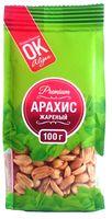 """Арахис жареный """"Premium ОК!"""" (100 г; соленый)"""