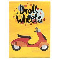 "Обложка на автодокументы ""Droll Wheels"""